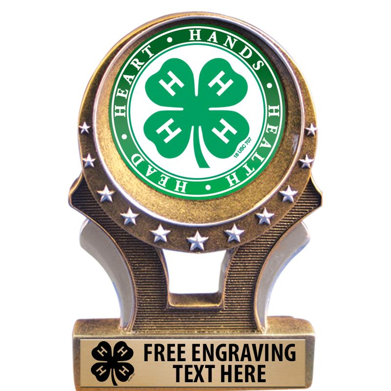 4-H Gold Universal Trophy