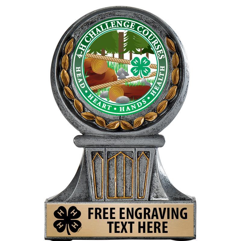 4-H Grecian Wreath Trophy