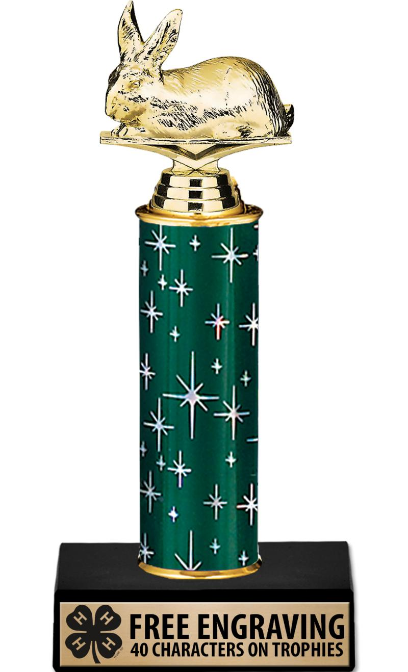 4-H Midnight Green Trophies