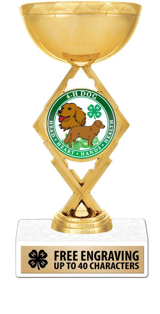 4H Theme Insert Figure Trophy
