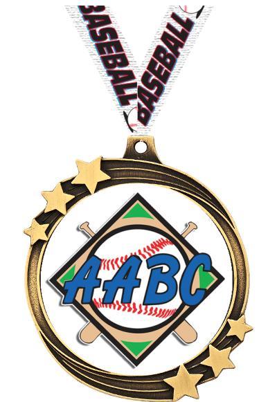 "2 1/2"" AABC Shooting Star Medal"
