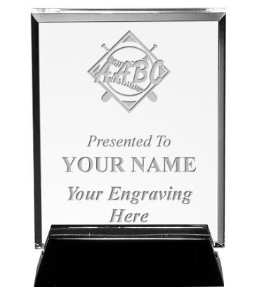 AABC Vertical Billboard Acrylic Award