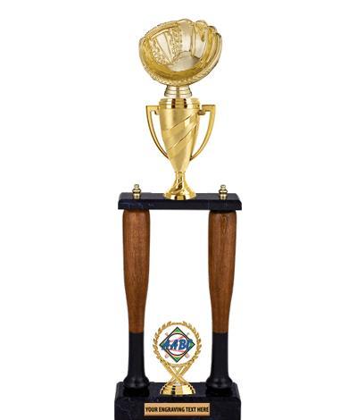 "24"" AABC Baseball Bat Trophy"