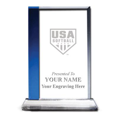 USA Softball Sapphire Florence Team Crystal Awards