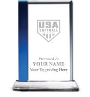 USA Softball Sapphire Florence Team Crystal Awards