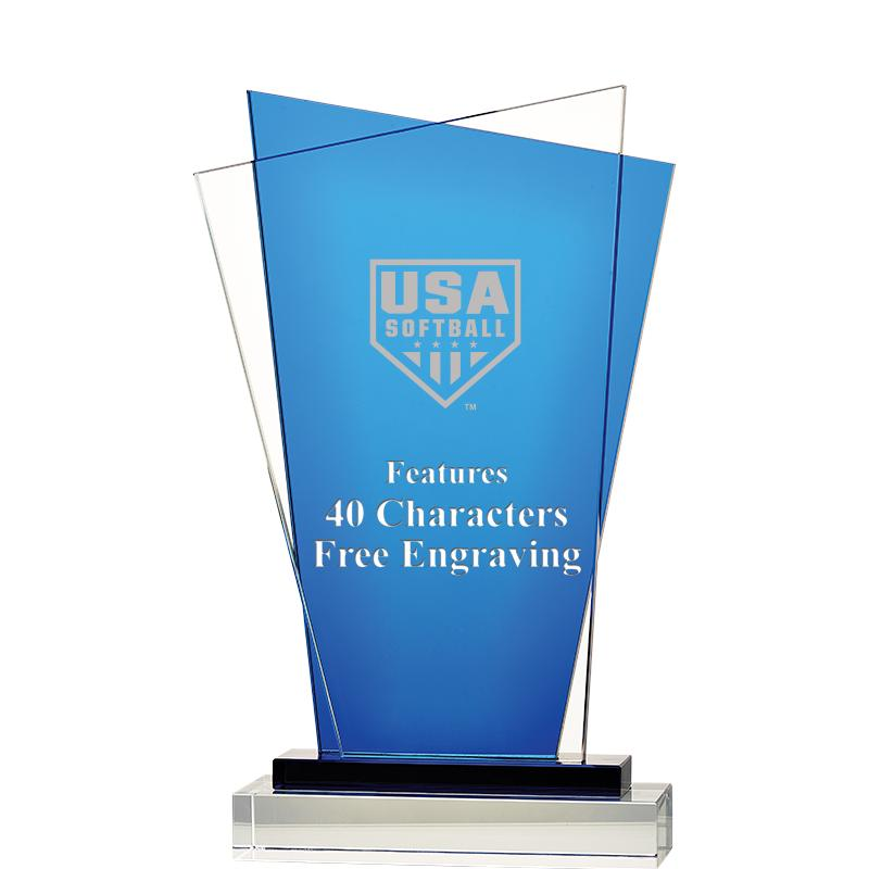 USA Softball Valence Crystal