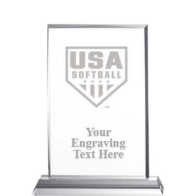 USA Softball Diligence Crystal Awards