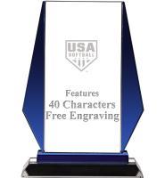USA Softball Vittoria Crystal Award