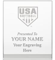 USA Softball Goodview Wedge Crystal Awards