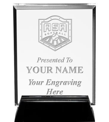 ASA Vertical Billboard Acrylic Award