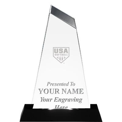 USA Softball Emperor Acrylic Award
