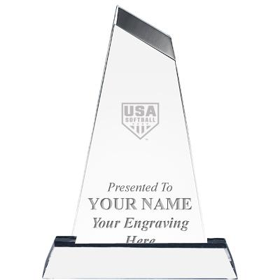 USA Softball Emperor Acrylic Award