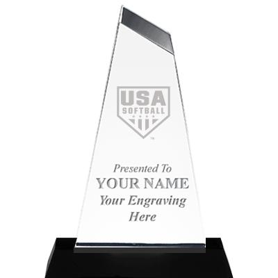 USA Softball Empress Acrylic Award