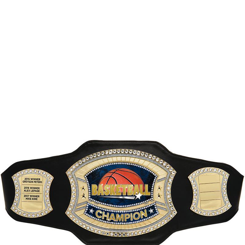 Black Perpetual Champion Belt