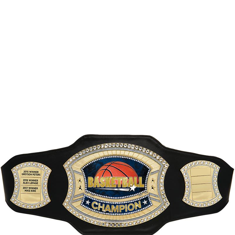 BLACK PERPETUAL CHAMP BELT