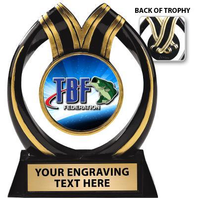Bass Federation Ebony Twist Sculpture