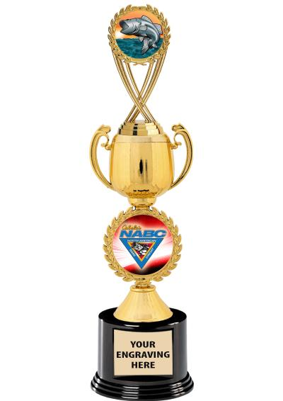 Bass Federation Chaplet Cup Trophy