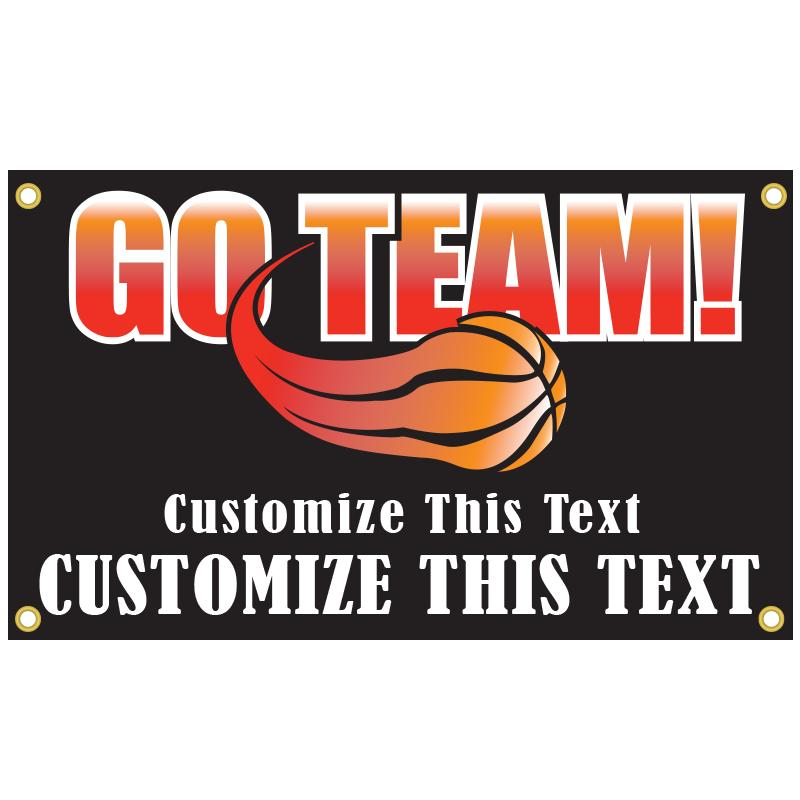 BASKETBALL BANNER TEMPLATE 1