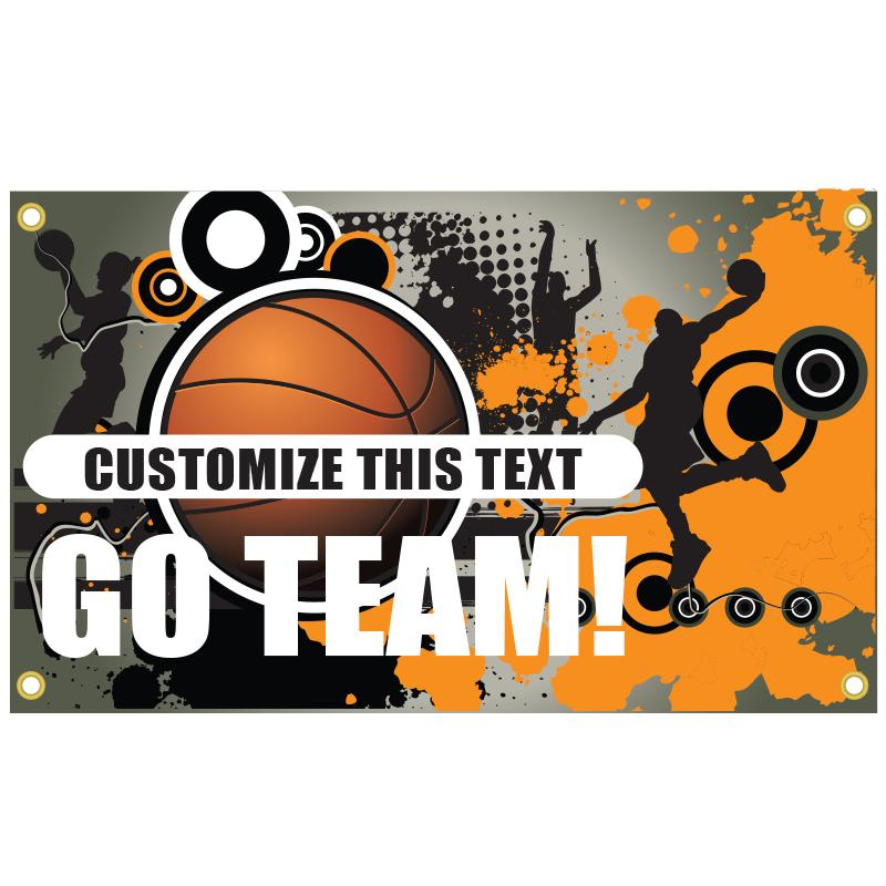 BASKETBALL BANNER TEMPLATE 2