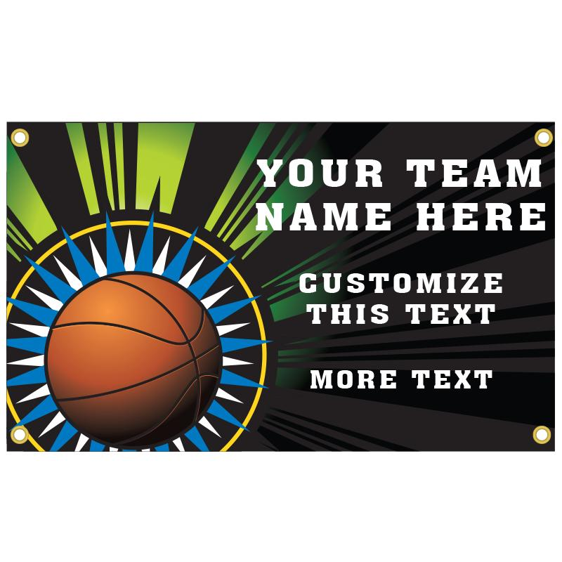 BASKETBALL BANNER TEMPLATE 3