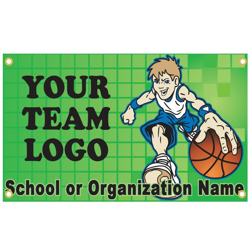 BASKETBALL BANNER TEMPLATE 4