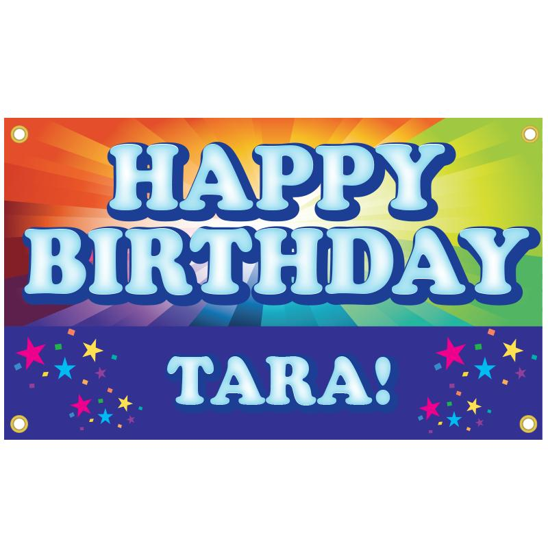 BIRTHDAY BANNER TEMPLATE 2