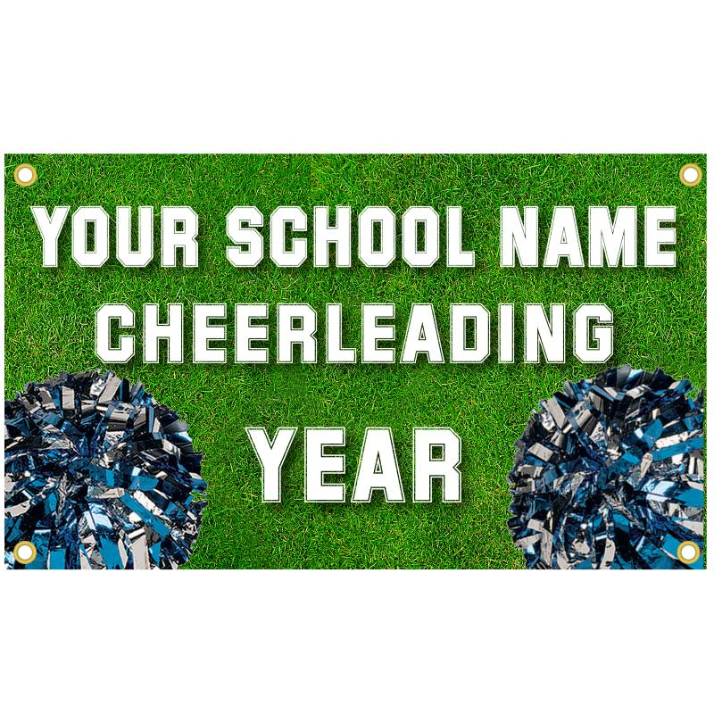 CHEERLEADING BANNER TEMPLATE 3