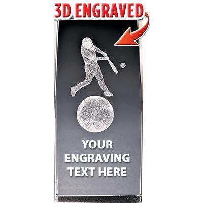 BSYAA Baseball Laser-3D Crystals