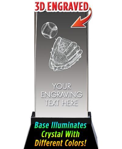 BSYAA Baseball Glove Laser-3D Crystal