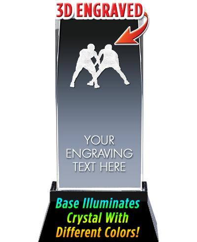 BSYAA Wrestling Laser-3D Crystal