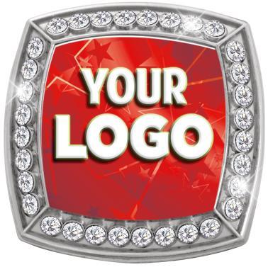 Custom Deluxe Insert Silver Star Ring