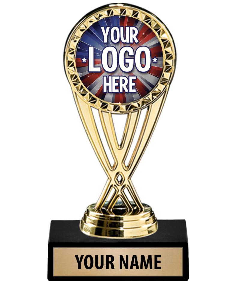 "6"" Custom Holder Trophy"