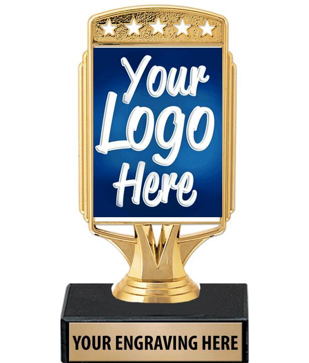 "6"" Starcardz Custom Holder Trophy"