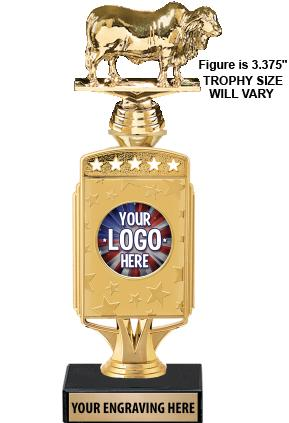 "12"" Starcardz Riser Custom Insert Trophy"