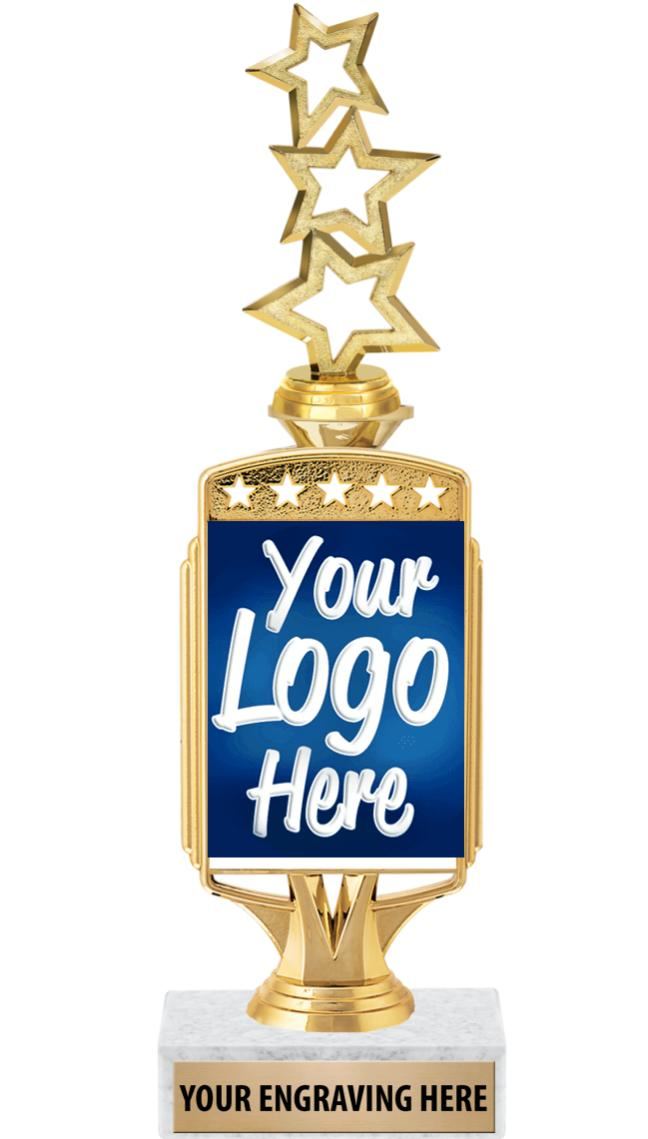"12"" Starcardz Riser Custom Holder Trophy"