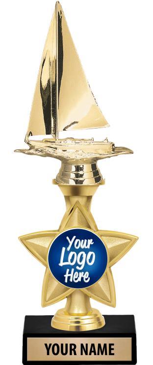 """11"""" Idol Star Riser Custom 2"""" Insert Trophy"""