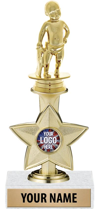 "9"" IDOL INSERT STAR TROPHY"