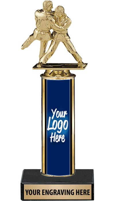 "12"" Ultra Custom Column Trophy"