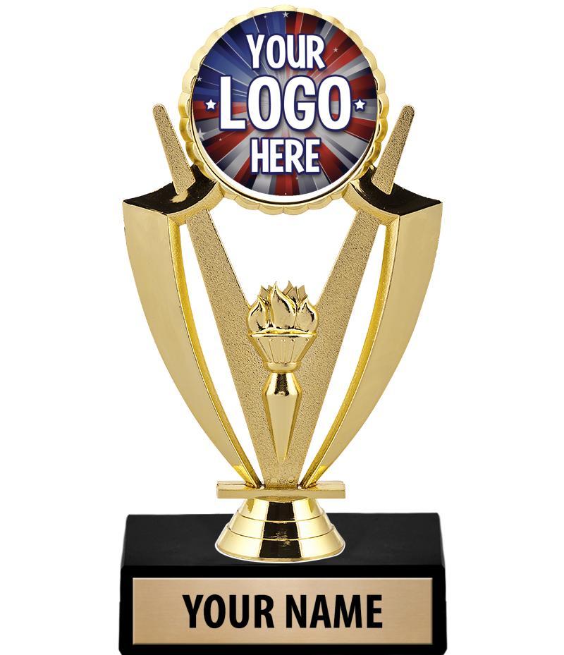 "6 3/4"" Victory Custom Insert Trophy"