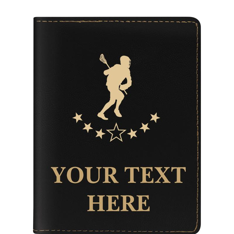LEATHERETTE PASSPORT HOLDER