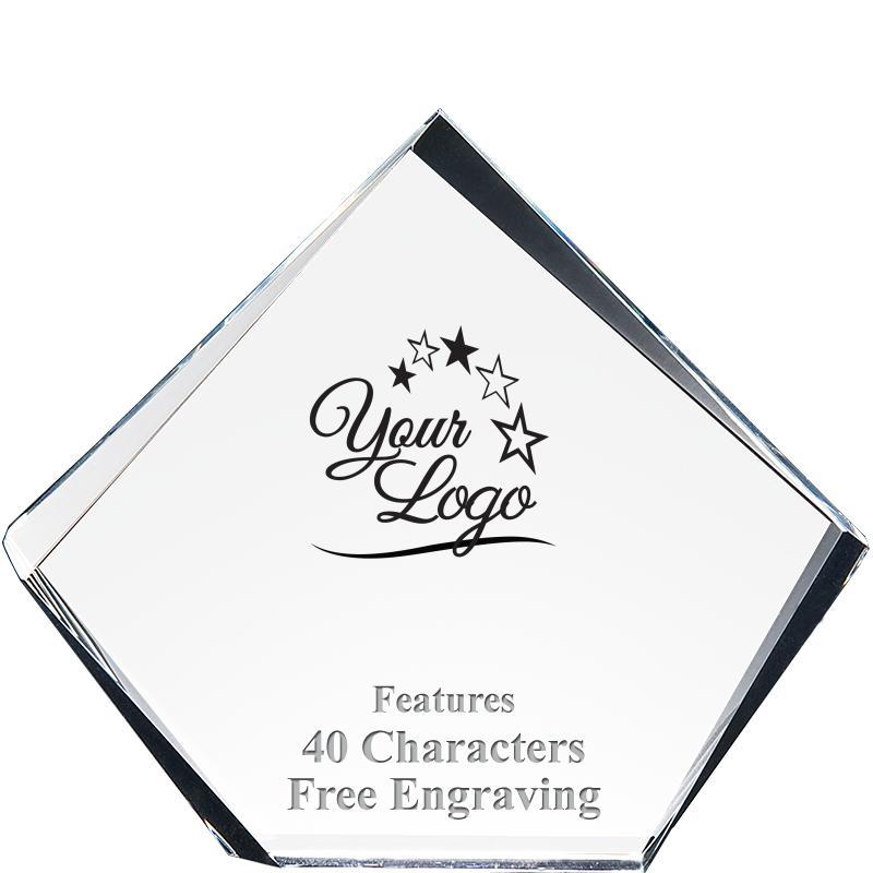 CMN Hospitals Pyramid Acrylic Award