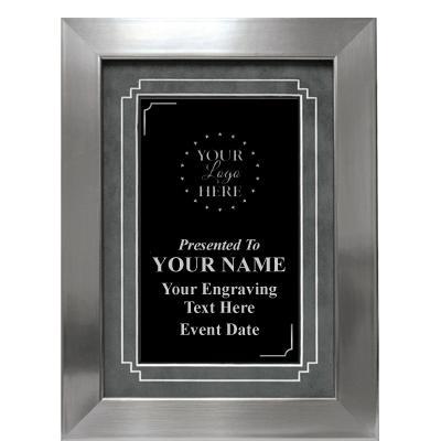 CMN Hospitals Silver Frame Plaque