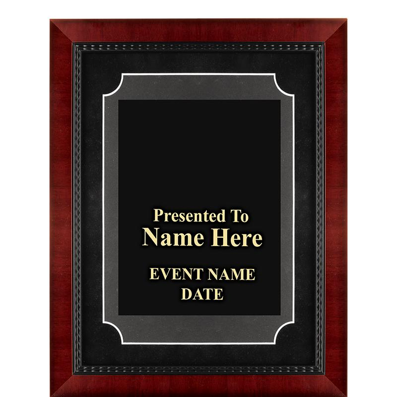 CMN Hospitals Heirloom Frame Plaque