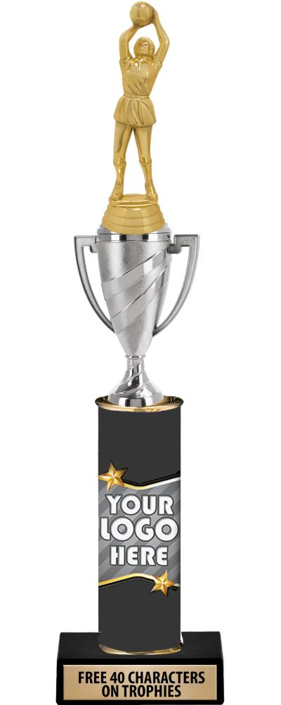"""14"""" CLASSIC LOGO GOLD CUP"""