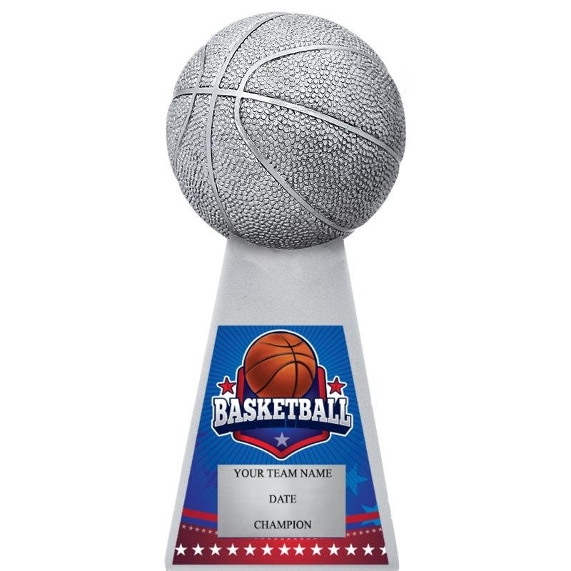 "7""METALLIC BASKETBALL MYL SCLP"