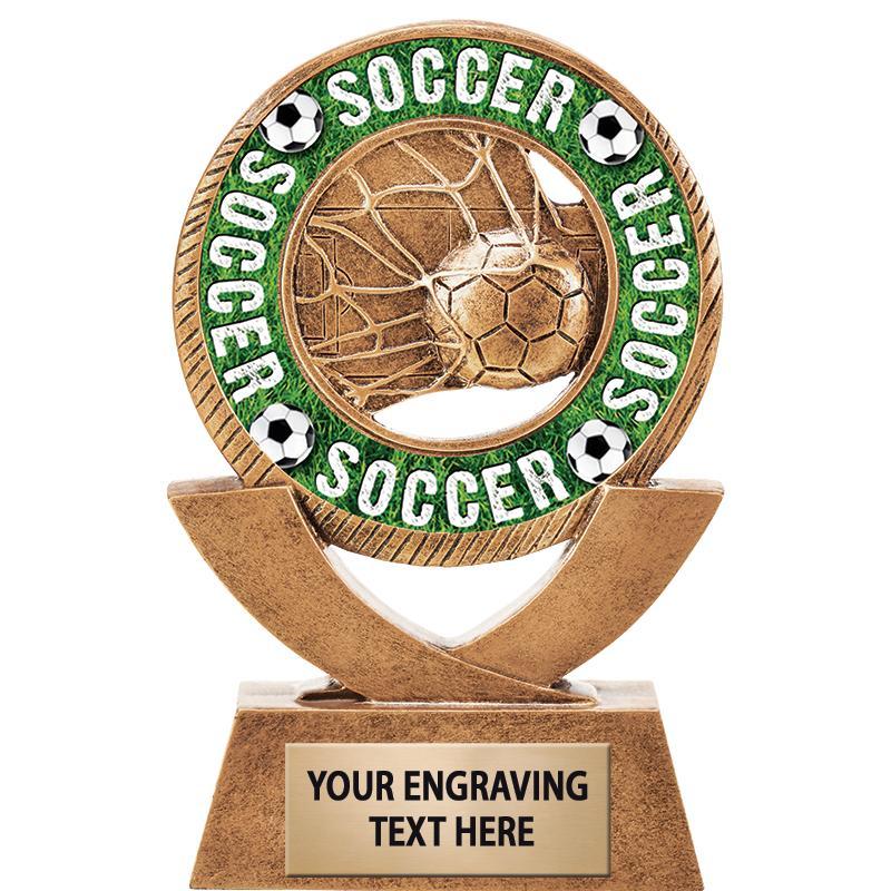 Soccer Rimz Sculpture