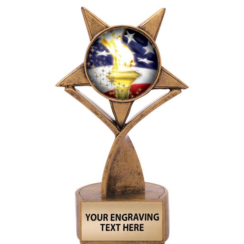 Soaring Star Insert Trophy