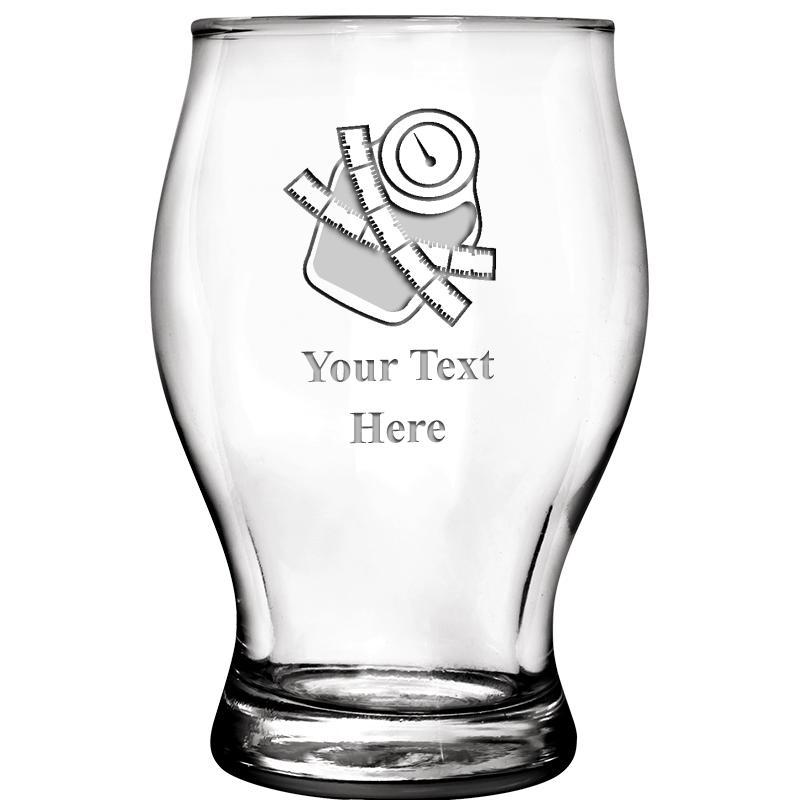 5.75 OZ BEER TASTING GLASS