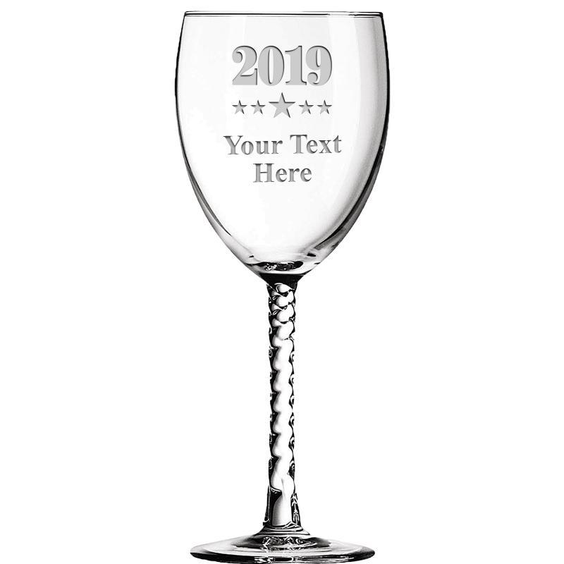 10.5 OZ ENTWINED WINE GLASS