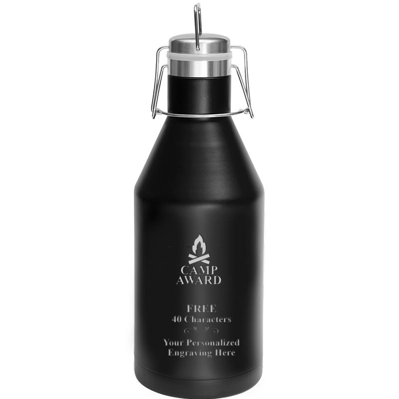 GROWLER 64OZ BLACK